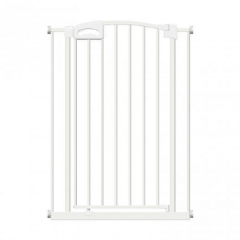 Callowesse Carusi Narrow Safety Gate With Auto-Close 63-70cm - White