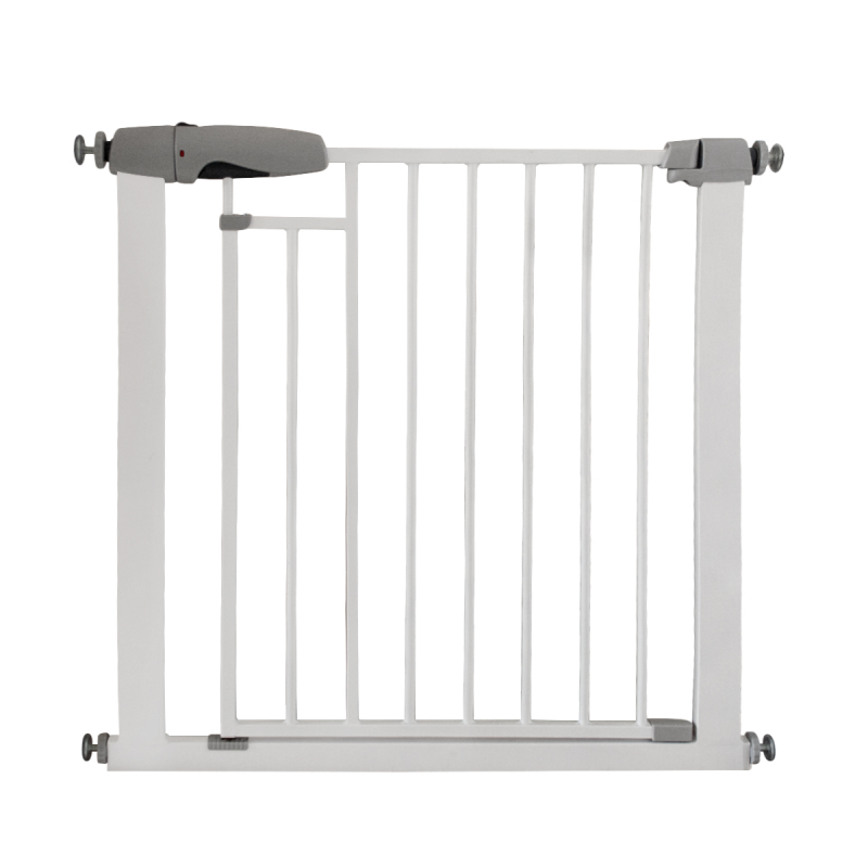 Callowesse Freedom Stair Gate Auto-Close Magnetic Two-Lock System – 76-83cm