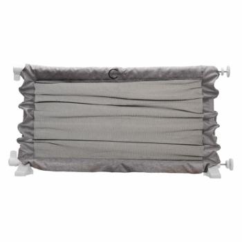 Callowesse Joey Portable Dog Barrier Unique Up & Down Feature 63cm - 103.5cm - Denim Grey