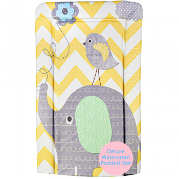 Elephant Chevron Changing Mat