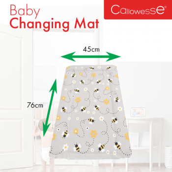 Callowesse Baby Changing Mat – Bees