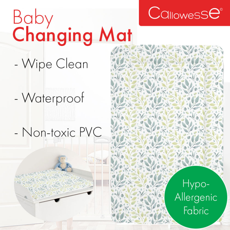 Callowesse Baby Changing Mat – Leaves