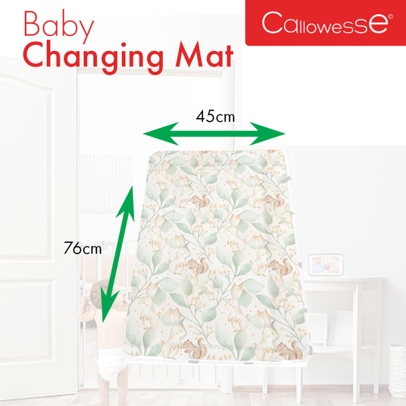 Callowesse Baby Changing Mat – Woodland