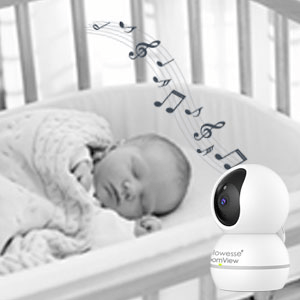 Callowesse RoomView Video Monitor Soothing Lullabies
