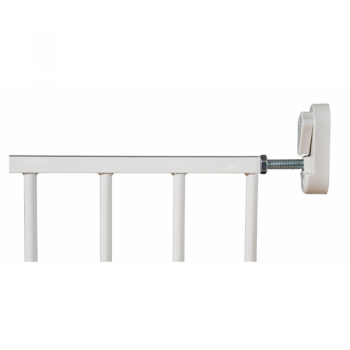 Callowesse Screwfit Metal Stair Gate Closed