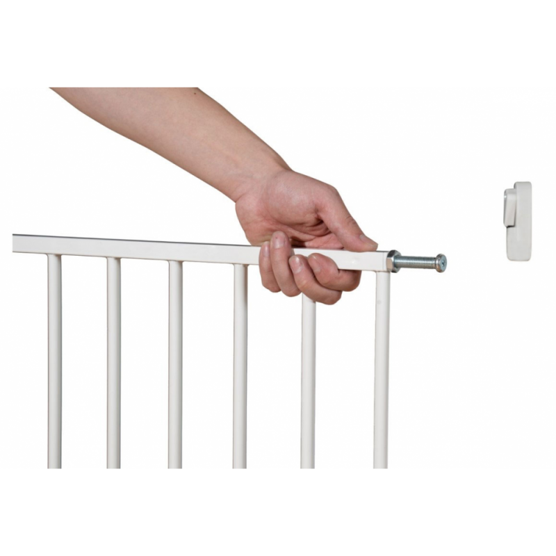 Callowesse Screwfit Metal Stair Gate Open
