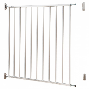 Callowesse Screwfit Metal Stair Gate white
