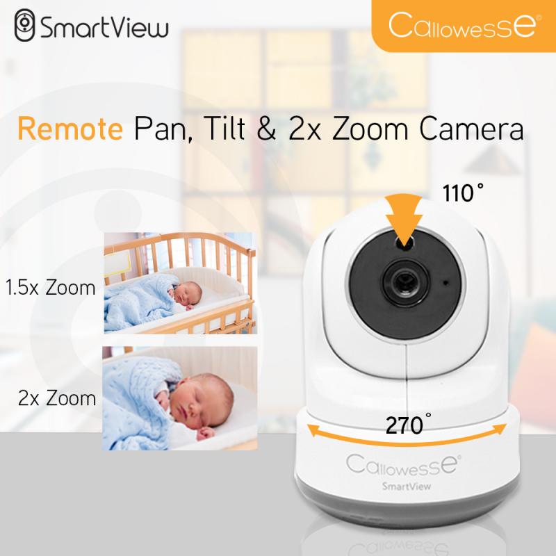 Callowesse Smart View Pan scan tilt zoom