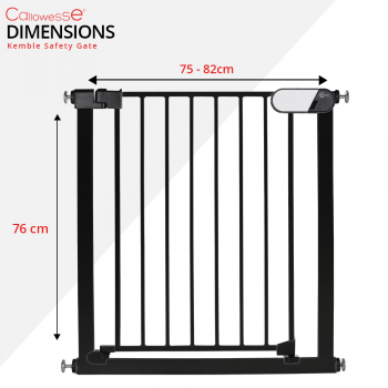 Callowesse Kemble Stair Gate Dimensions
