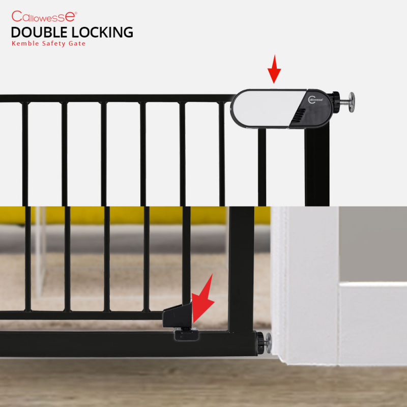 Callowesse Kemble Stair Gate Double-Locking