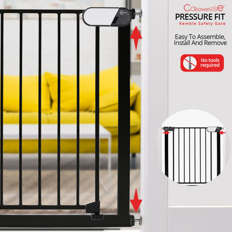 Callowesse Kemble Stair Gate Pressure-Fit