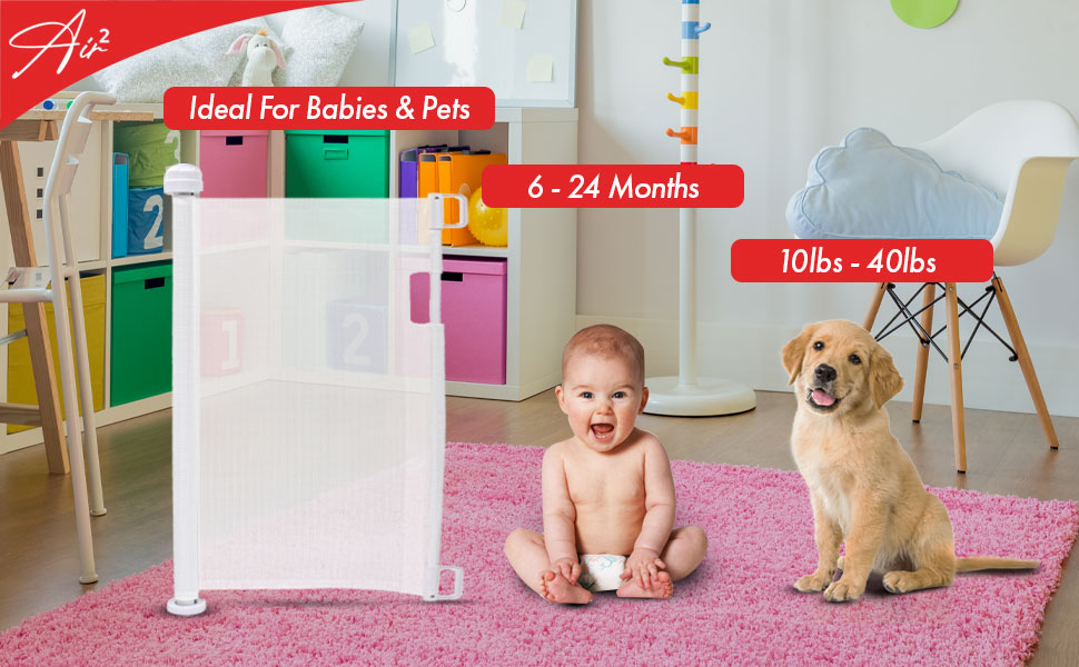 Callowesse Air 2 white for babies and pets