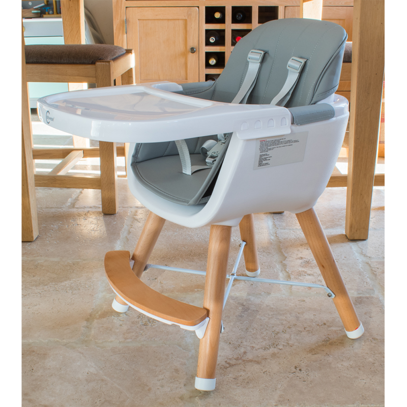 Callowesse-Elata-3-in-1-wooden-highchair-grey