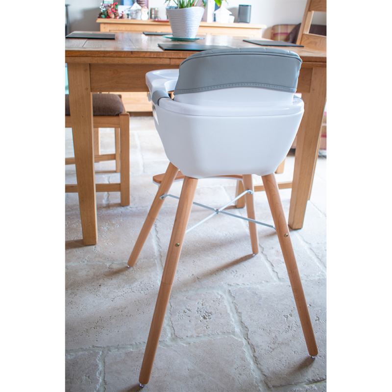 Callowesse-Elata-3-in-1-wooden-highchair-grey-back