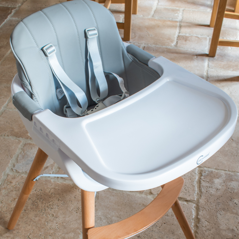 Callowesse-Elata-3-in-1-wooden-highchair-grey-top