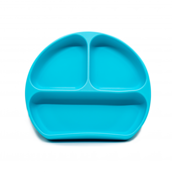 Callowesse Silicone Suction Plate Blue