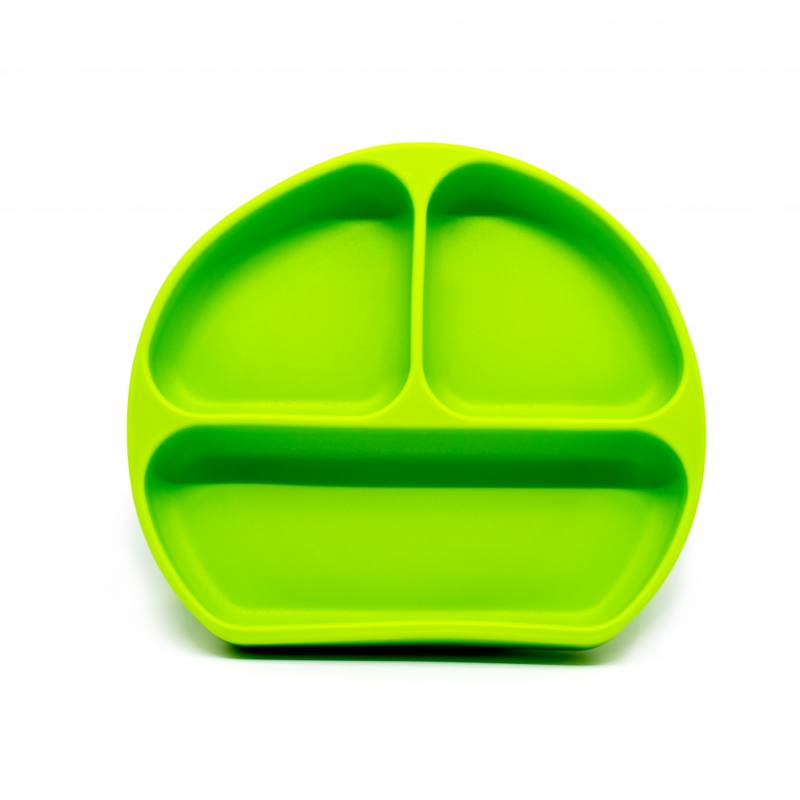 Callowesse Silicone Suction Plate Green