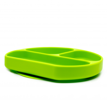 Callowesse Silicone Suction Plate Side green