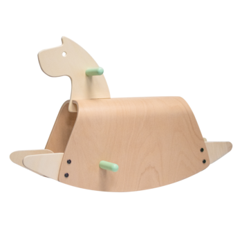 Callowesse Pinto Wooden Rocking Horse