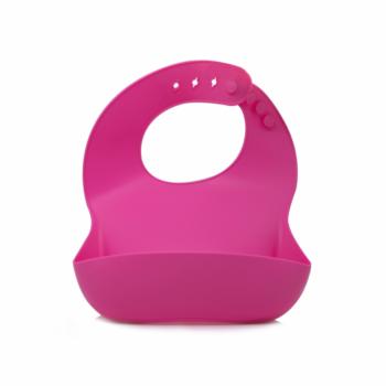 Callowesse Silicone Bib – Pink
