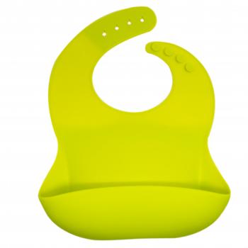 Callowesse Silicone Bib - Lime Green
