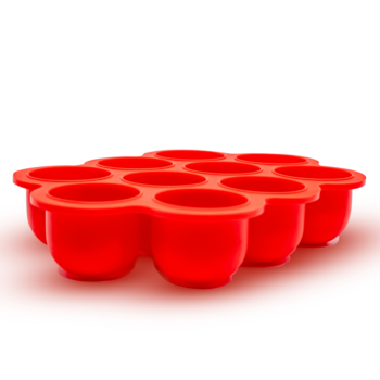 Callowesse Silicone Food Storage – Red